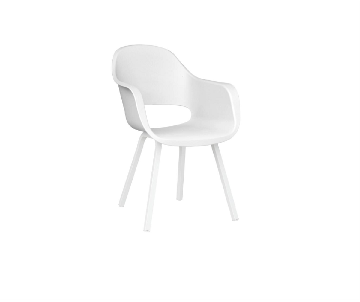 Chaise Madrid blanc