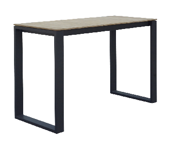 Table haute en teck