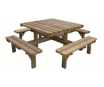 Table banc Octave