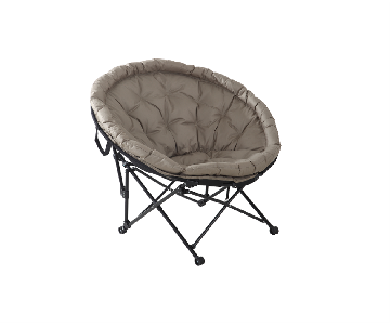 Chaise Cocoon taupe