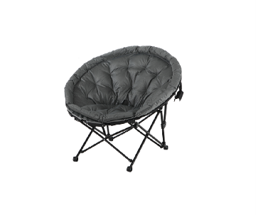 "Chaise ""Cocoon"" anthracite"