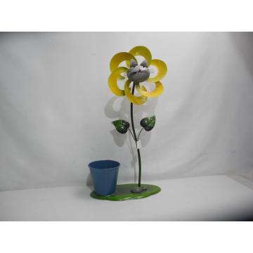 Fleur chat à planter