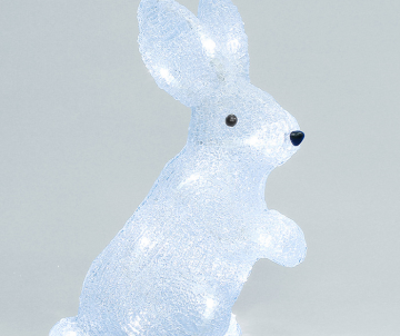 Lapin assis LED