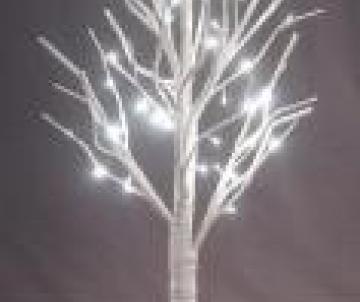 Bouleau LED lumineux en papier