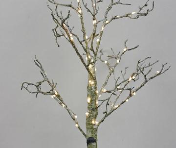 Bouleau lumineux LED 60 cm