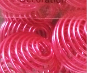 boule spirale violet