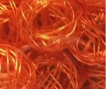 boule metal orange