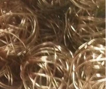 boule metal argenté