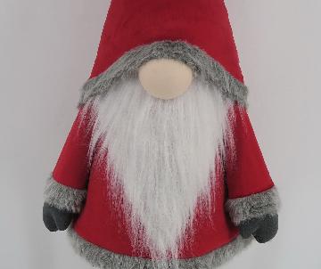 Gnome en tissus debout,...