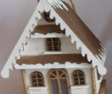maison lumineuse en bois à...