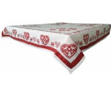 Nappe 150x150 cerf rouge