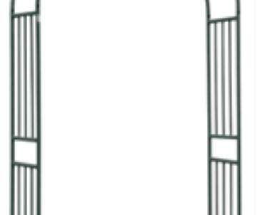 Arc en acier  120x40xh219