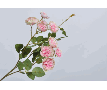 ROSE SPRAY PINK 64cm
