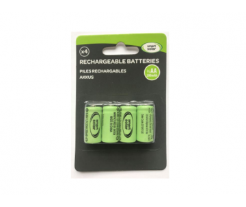 Piles rechargeables 1/3 AAA