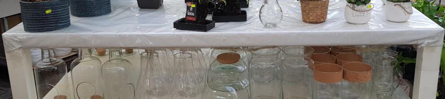 Récipients en verre