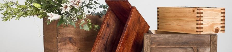 Pots en bois